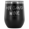 """On Cloud Wine"" Stemless Wine Cup"