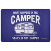 """What Happens In The Camper Stays In The Camper"" - Doormat"
