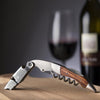 Vintage Dark Wood Wine Corkscrew