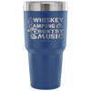 """Whiskey, Camping, And Country Music"" - Stainless Steel Tumbler"