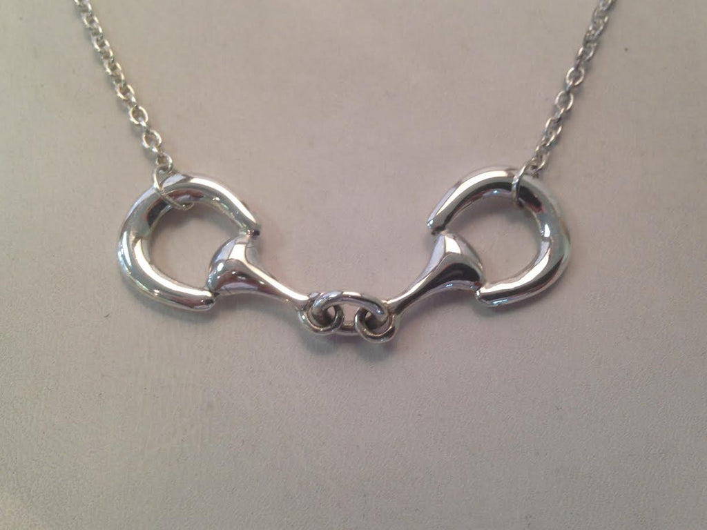 Sterling Silver 'Bit' Necklace
