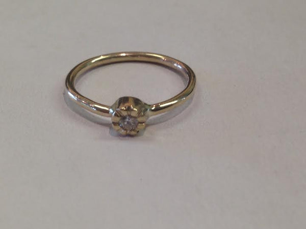 Diamond Petite Ring