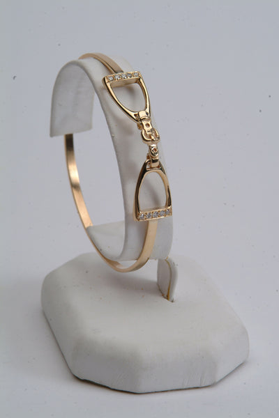 English Stirrup Bracelet