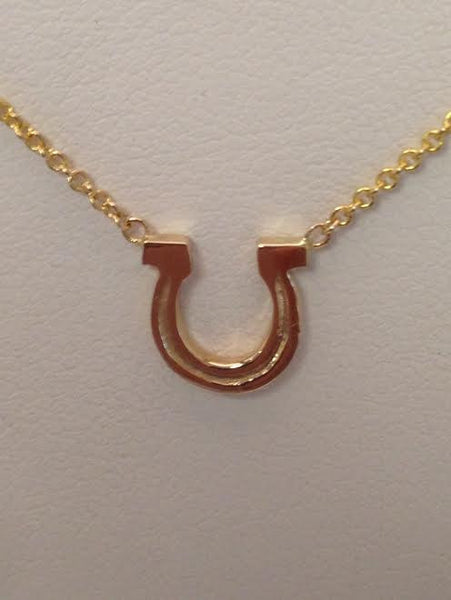 Horse Shoe Necklace Small