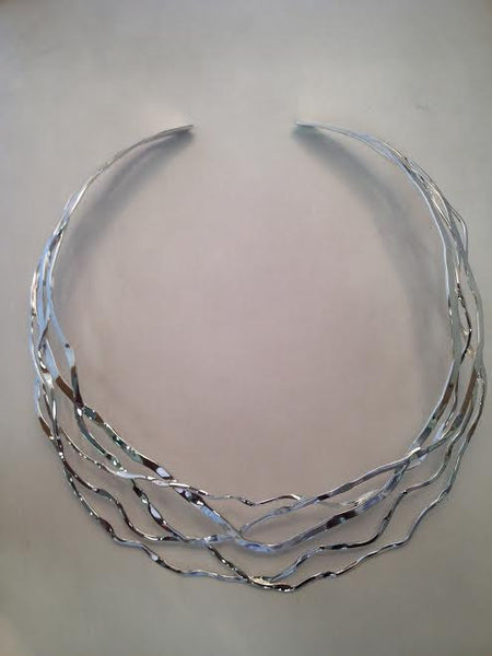 Sterling Silver Wire Collar