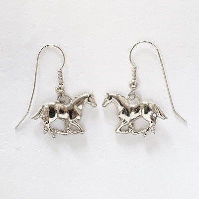 Running Horse Earrings