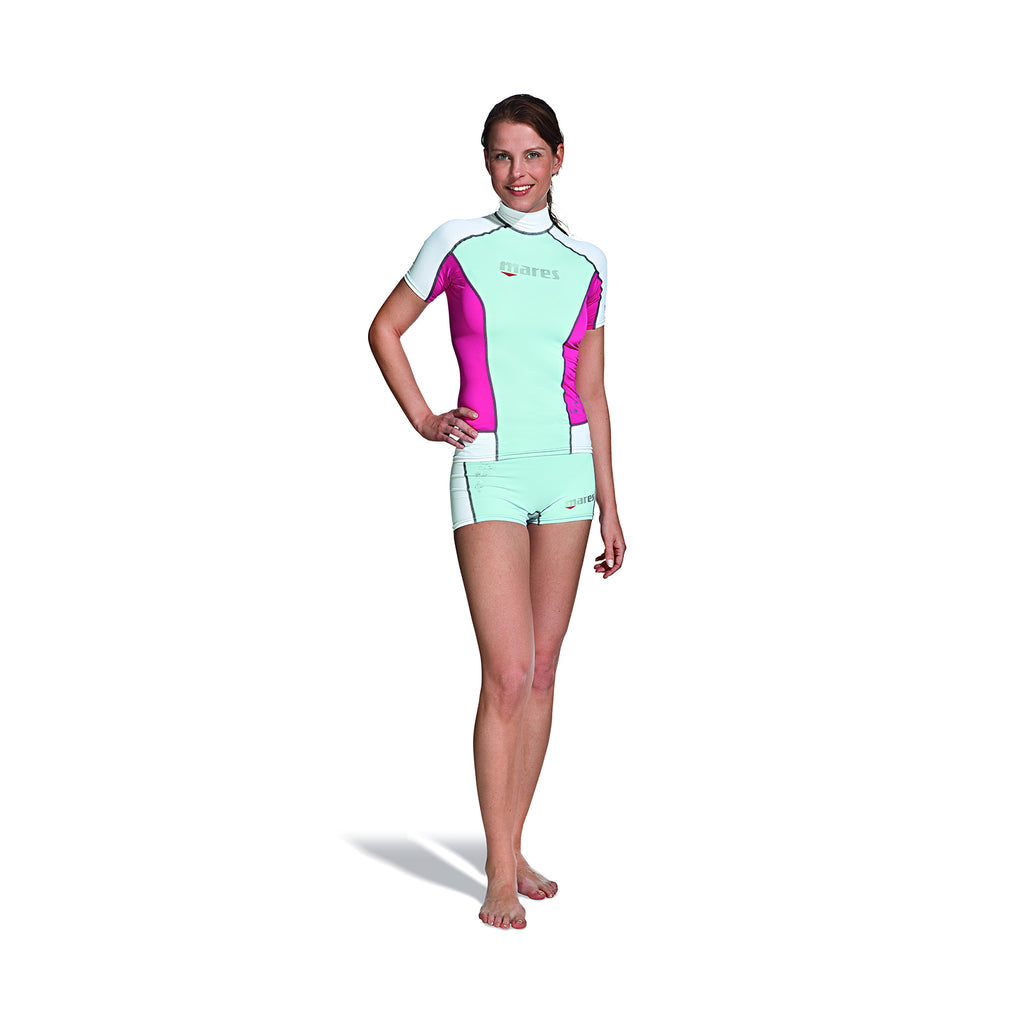 Mares Ladies Trilastic Rash Guard Short Sleeve - Outside The Asylum Diving & Travel