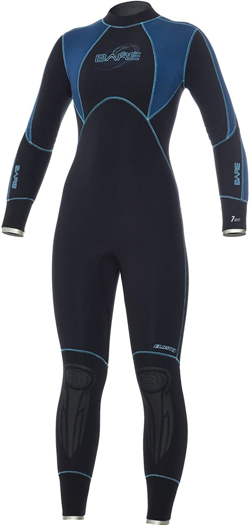 Bare Womens Elastek 7mm Full Wetsuit - Outside The Asylum Diving & Travel