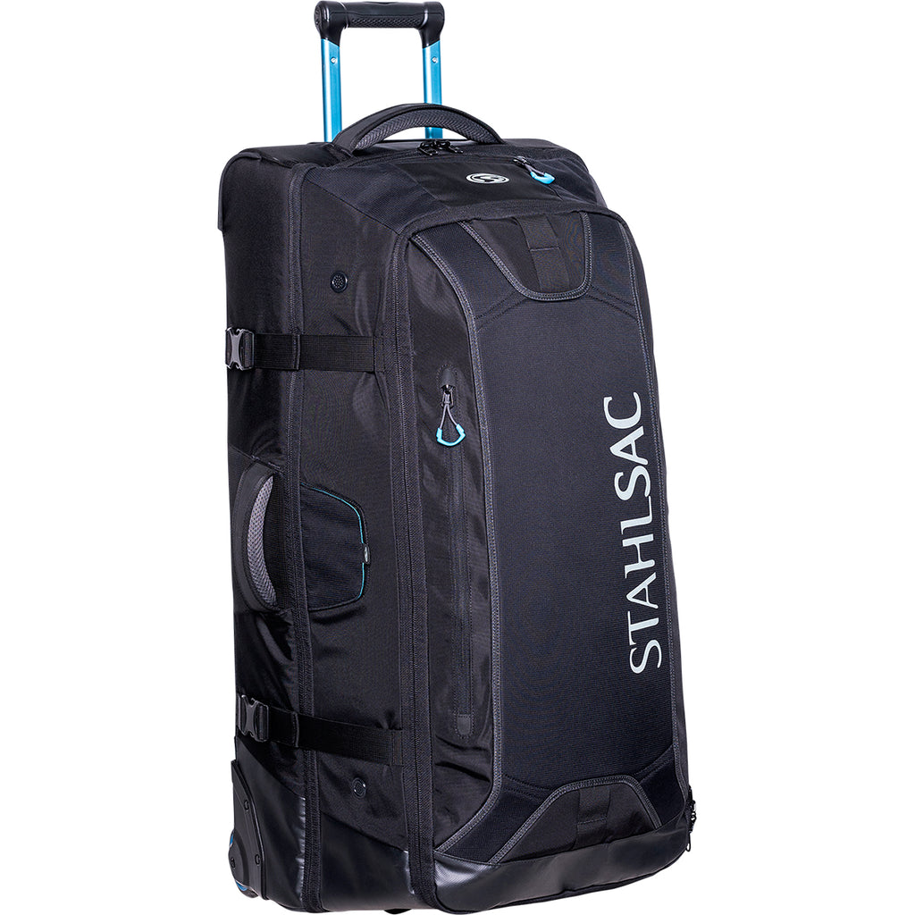 Stahlsac 34 inch Steel Wheeled Bag, Black - Outside The Asylum Diving & Travel