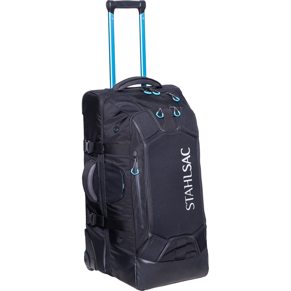 Stahlsac 27 in Steel Wheeled Bag, Black - Outside The Asylum Diving & Travel