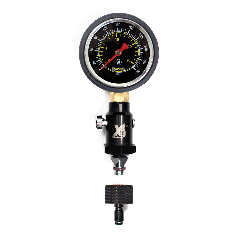 XS Scuba Intermediate Pressure Gauge (2019 Model) - Outside The Asylum Diving & Travel