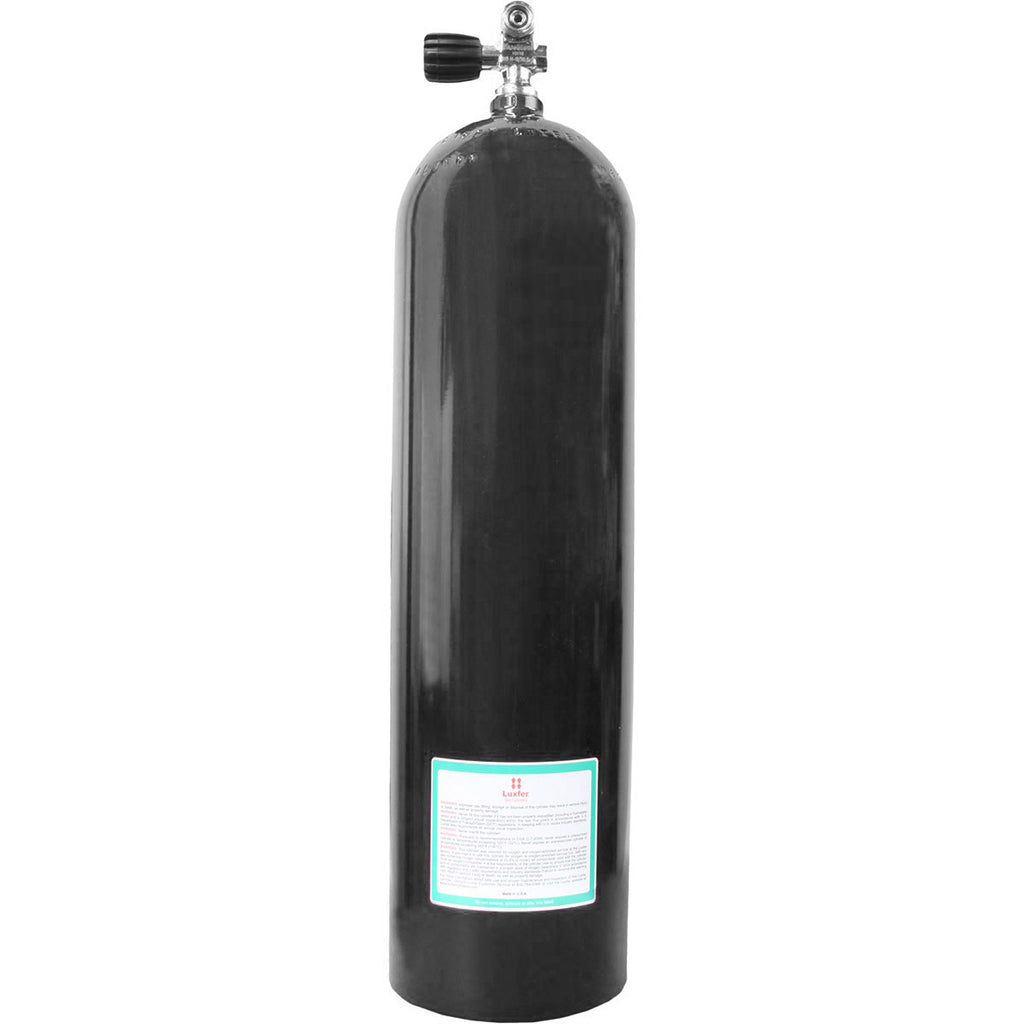 Aluminum 80 CU FT Cylinder 3000 PSI - Outside The Asylum Diving & Travel
