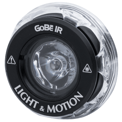 Light & Motion GoBe IR Lighthead - Outside The Asylum Diving & Travel