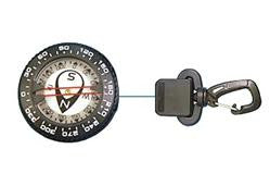 Retractor Compass With Gate Snap - Outside The Asylum Diving & Travel