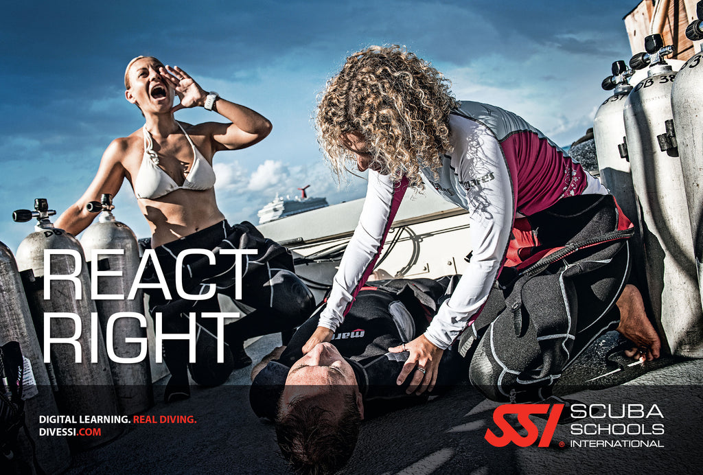 SSI React Right AED/O2/CPR