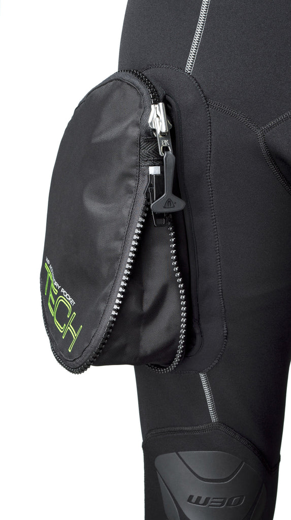 Waterproof  Mens W30 with removable WPAD Tech pocket - Outside The Asylum Diving & Travel