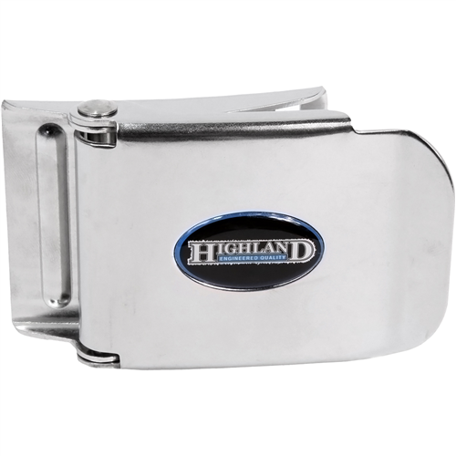 Highland Stainless Steel Harness Buckle - Outside The Asylum Diving & Travel