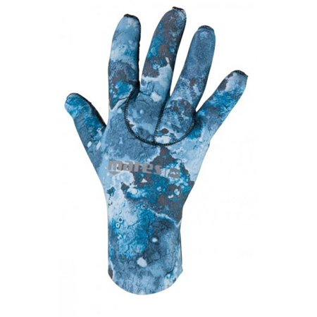 Mares Gloves 2mm Blue Camo - Outside The Asylum Diving & Travel
