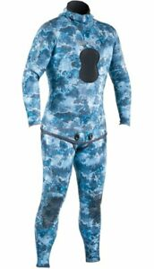 Instinct Open Cell Pants Blue Camo - Outside The Asylum Diving & Travel