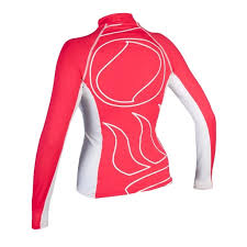 Fourth Element Hydroskin Womens L/S Rashguard Coral - Outside The Asylum Diving & Travel