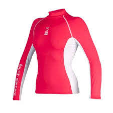 Fourth Element Hydroskin Womens L/S Rashguard Coral