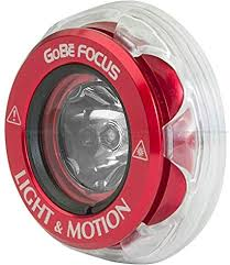 Light & Motion GoBe Red Focus Head - Outside The Asylum Diving & Travel