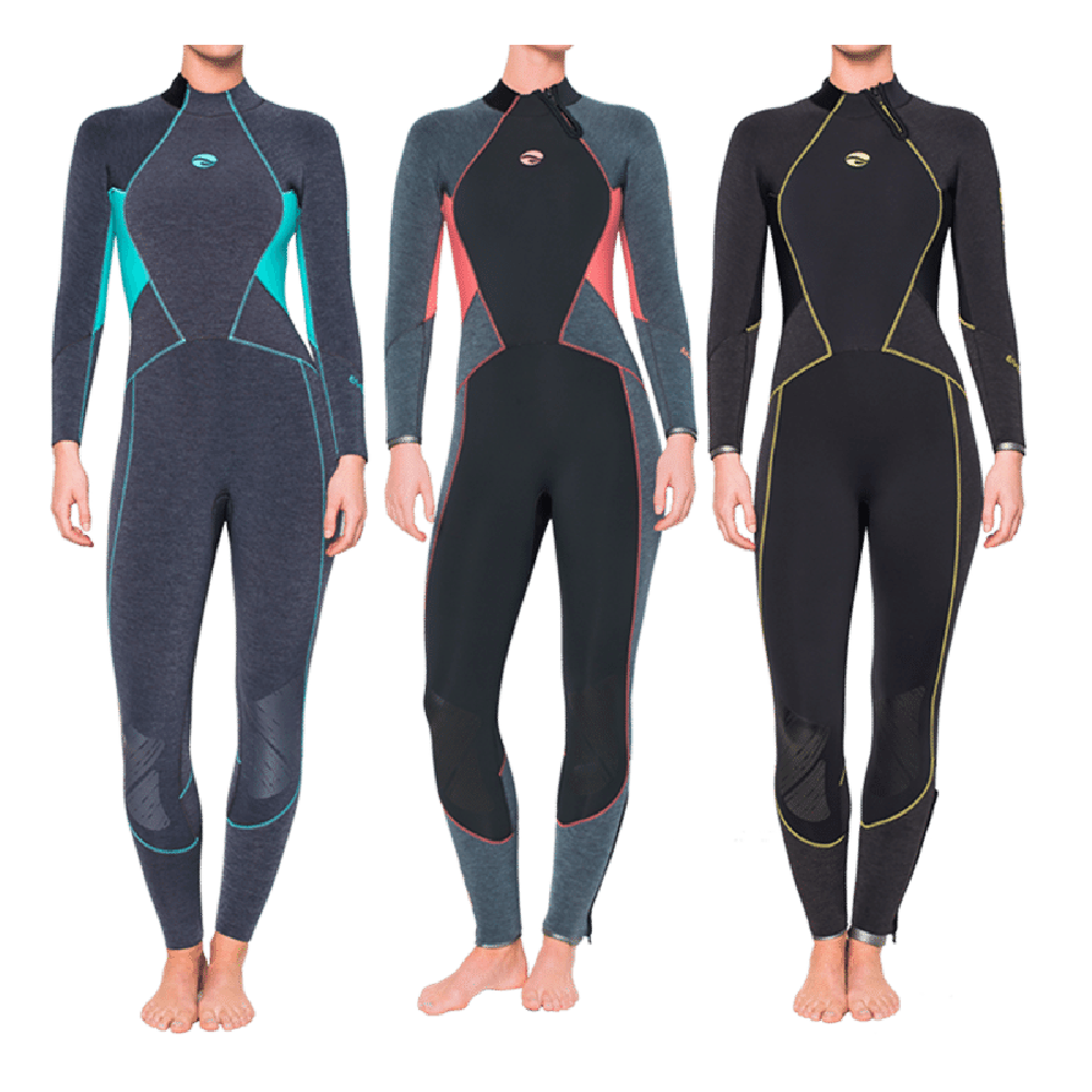 Bare Evoke Womens 3mm Wetsuit - Outside The Asylum Diving & Travel