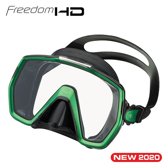 Tusa Freedom HD Mask - Outside The Asylum Diving & Travel