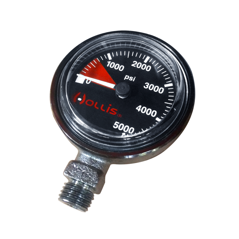 Low Profile Black Submersible Pressure Gauge Module - Outside The Asylum Diving & Travel