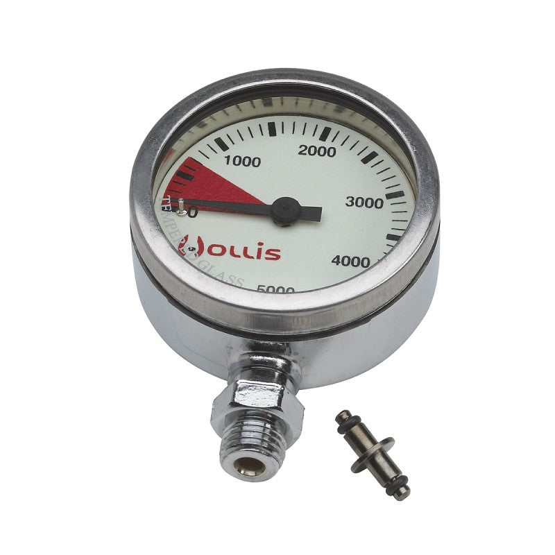 Pressure gauge module psi. metal w/o boot - Outside The Asylum Diving & Travel