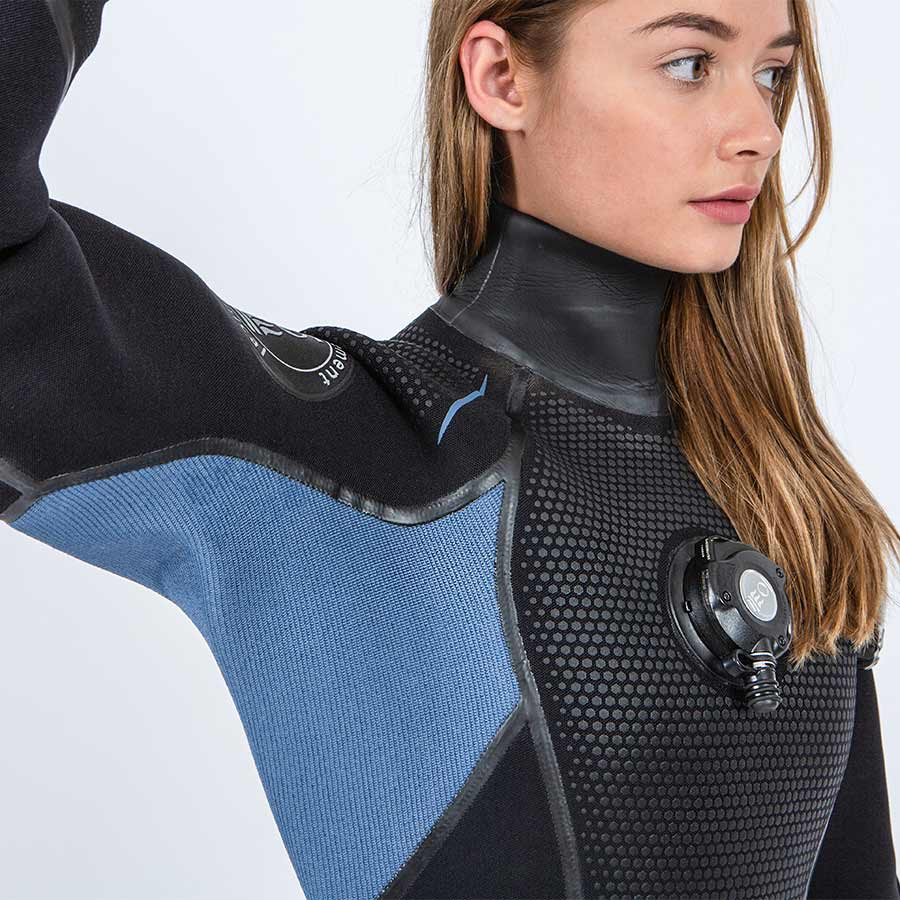 Fourth Element Hydra Women's Dry Suit - Outside The Asylum Diving & Travel