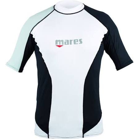 Mares Mens Loose Fit Rash Guard Short Sleeve - Outside The Asylum Diving & Travel