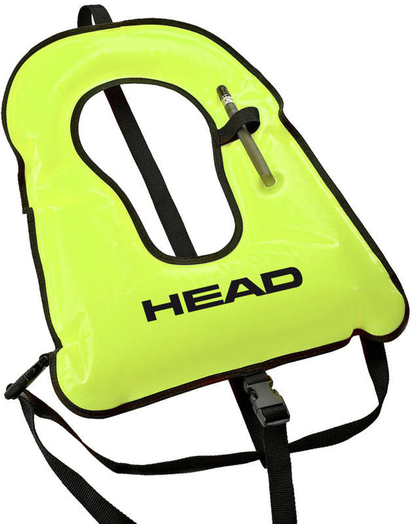 Head Snorkeling Vest Neon Yellow - Outside The Asylum Diving & Travel