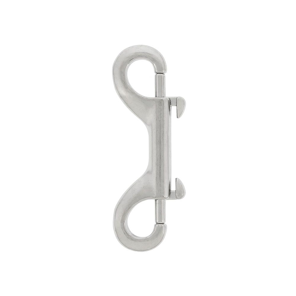 Sliding Bolt Snap S/S double eye 4.5 inch