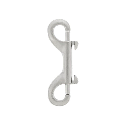 Small Sliding Bolt Snap S/S double eye 2 inch