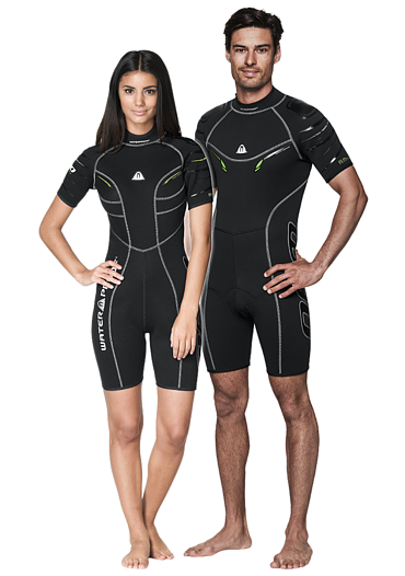 Waterproof Female W30 Shorty Suit - Outside The Asylum Diving & Travel