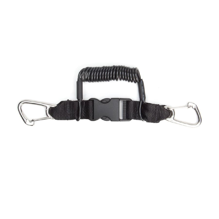 XS Scuba Quick Release Coil Lanyard