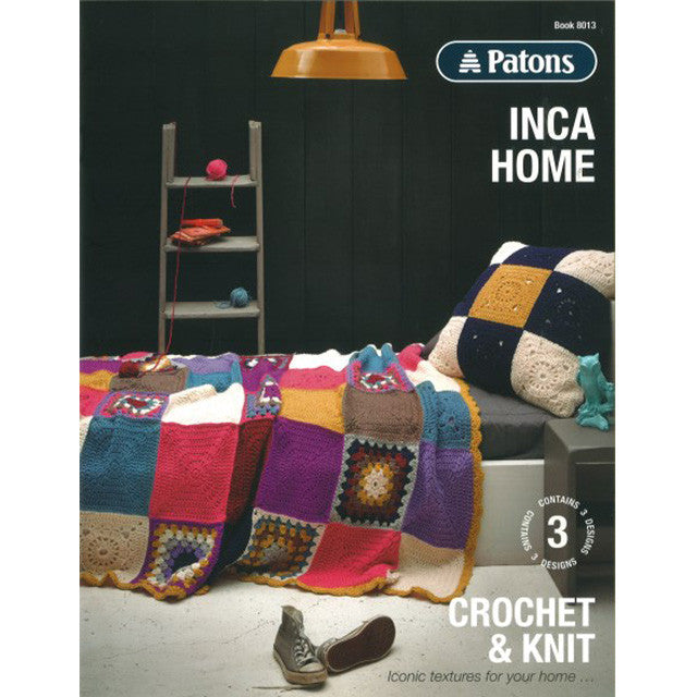 Patons Inca Home Pattern Books Nundle Woollen Mill