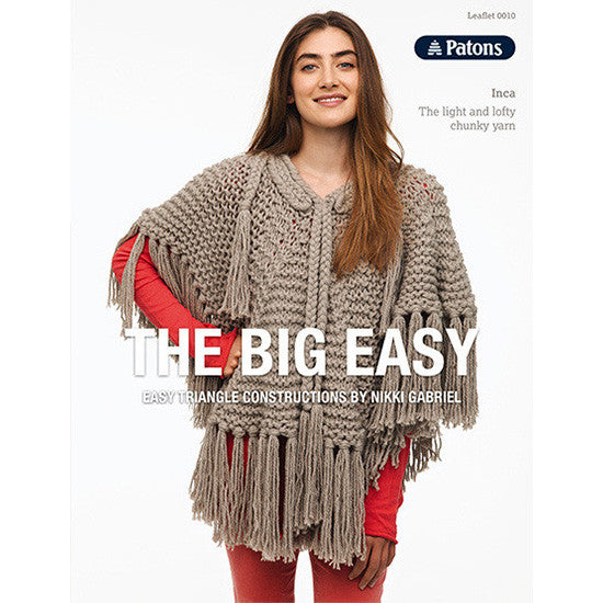 Patons The Big Easy Pattern Books Nundle Woollen Mill