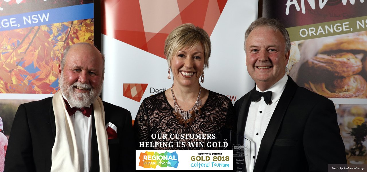 Our customers helping us win gold in 2018