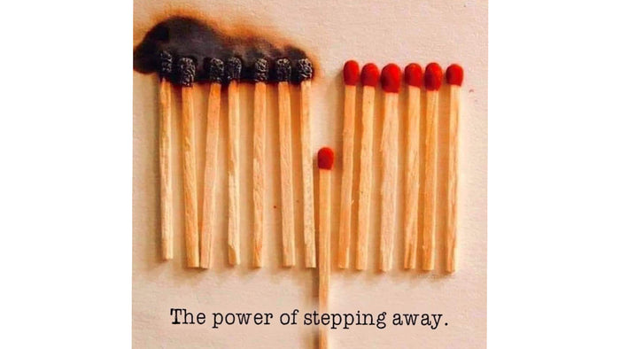 the power of stepping away