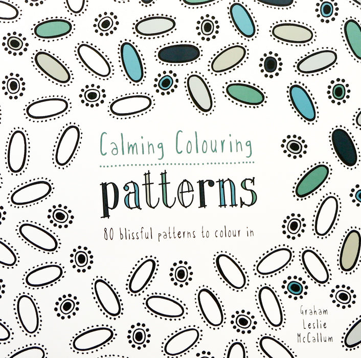 Calming Colouring patterns book