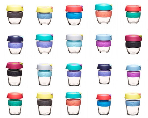 KeepCup Brew (Glass) - 8oz, 12oz and 16oz