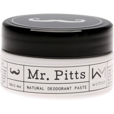 Mr Pitts Natural Deodorant Paste - Woman - 70g