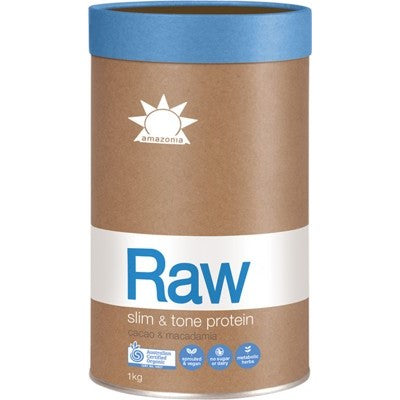 Amazonia Raw Slim and Tone Protein - Cacao & Macadamia