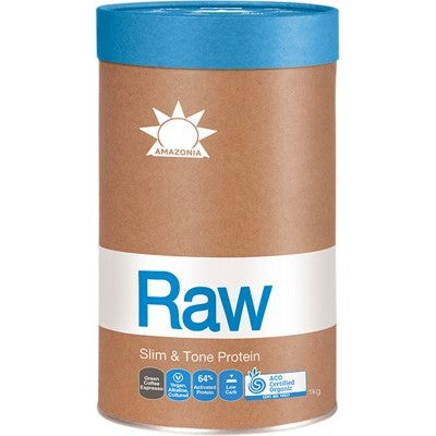 Amazonia Raw Slim and Tone Protein - Green Coffee Espresso