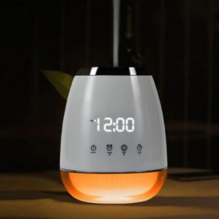 Aroma Diffuser Clock - White or Black - 200ml