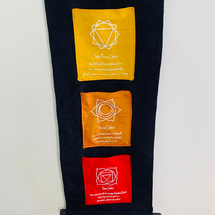 Chakra Pocket Wall Hanging - Large