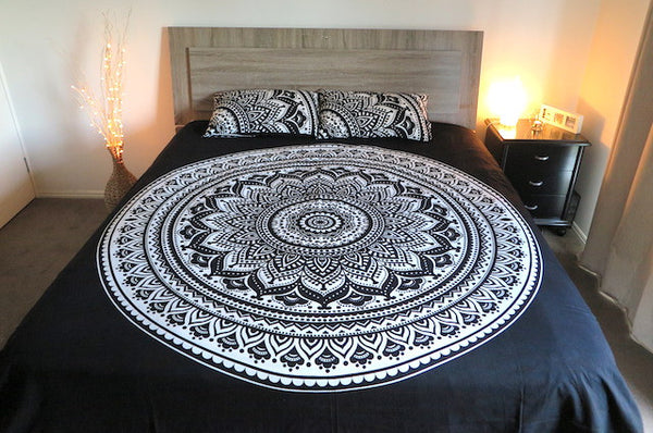 Mandala Doona Covers + Pillow Cases