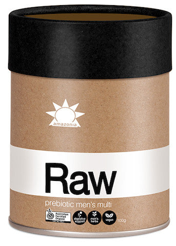 Amazonia Raw Prebiotic Men's Multi 100g